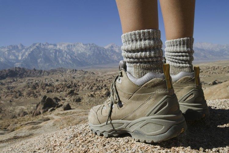 El senderismo por el área de Fallon, Nevada, es una aventura en la gran cuenca.