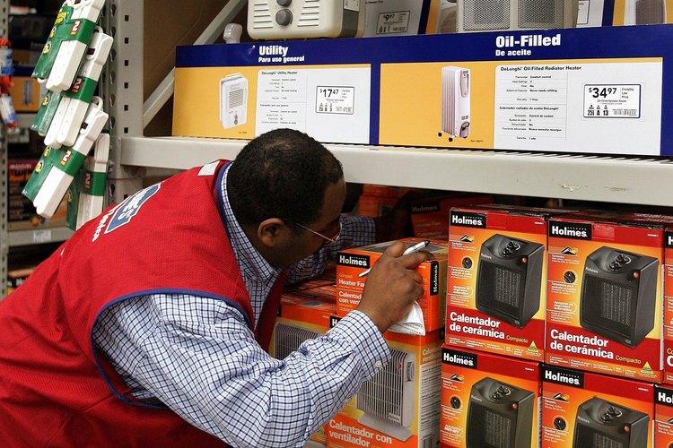 Puedes encontrar calentadores de cerámica en cualquier supermercado.