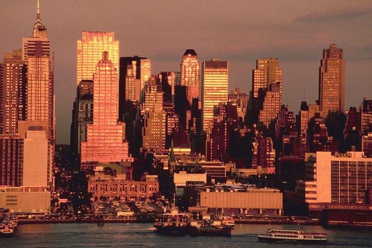 La ciudad de Nueva York alberga una cantidad de construcciones emblemáticas.
