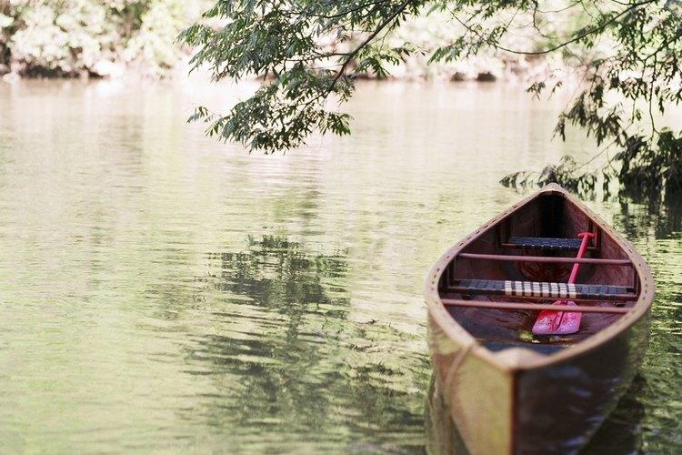 Disfruta un paseo gratuito en bote en el Center for Wooden Boats.