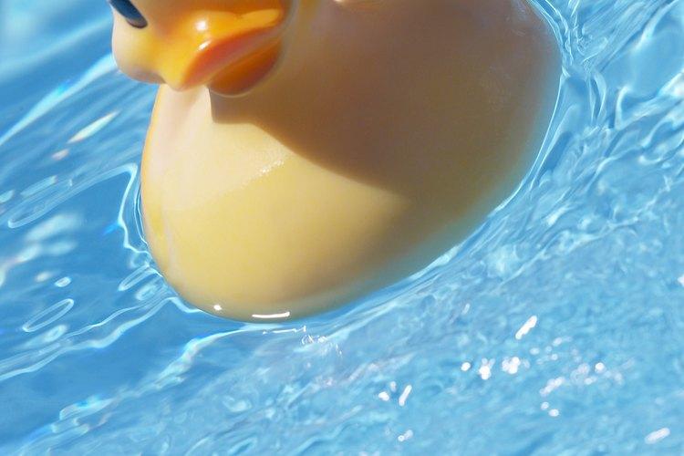 Cómo limpiar las piscinas de plástico.