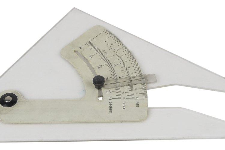 Medir bien los ángulos es fundamental para construir cualquier estructura.