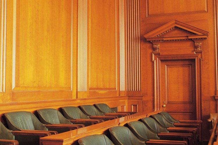 """Los miembros del jurado se eligen por medio de un proceso llamado """"voir dire""""."""