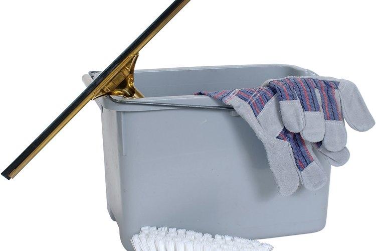 Labores de limpieza.