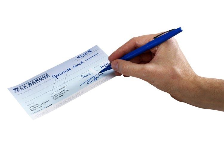 El cheque debe tener el nombre de la entidad bancaria que lo emitió.