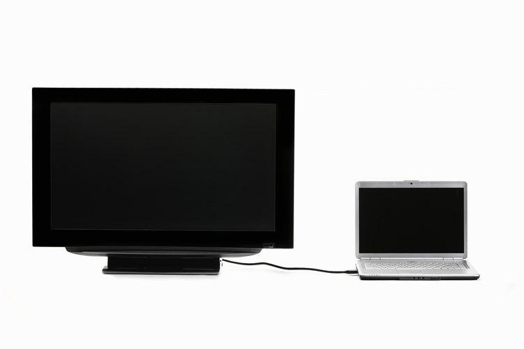Utiliza el monitor de televisión para la computadora, así como entretenimiento.