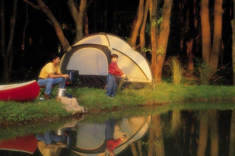 El centro de Pennsylvania es el hogar de cientos de lugares para acampar.