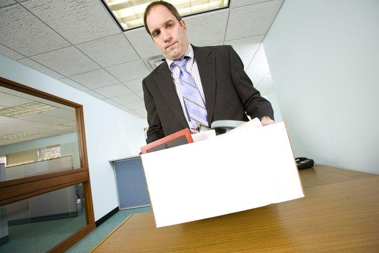 Los empleados que abandonan en malos términos o de repente su empleos, pueden no ser recontratados.