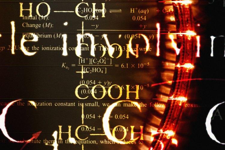 Escribe las fórmulas químicas de las sales disueltas.