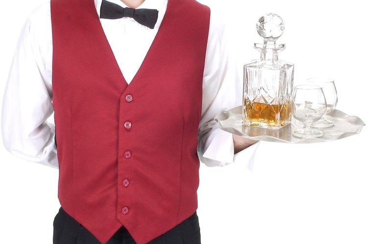 Muchos camareros dependen de sus propinas para ser pagados.