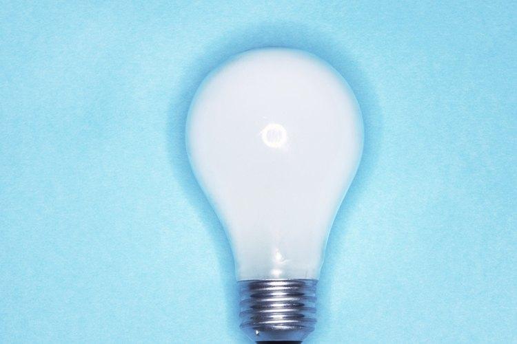 Las lámparas de tungsteno son famosas por su luz blanca.