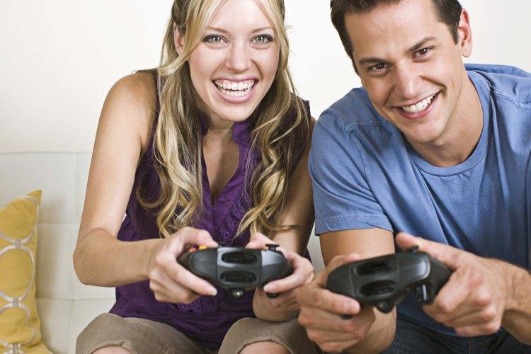 Jugar videojuegos es una forma de pasar el tiempo en los días lluviosos.