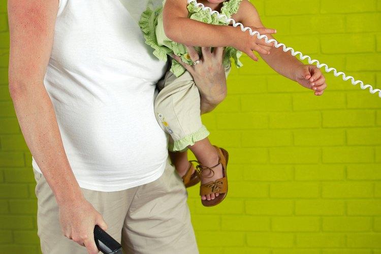 Intentar mantener el control de tu casa y cuidar de tu hijo puede hacerte sentir relajada.
