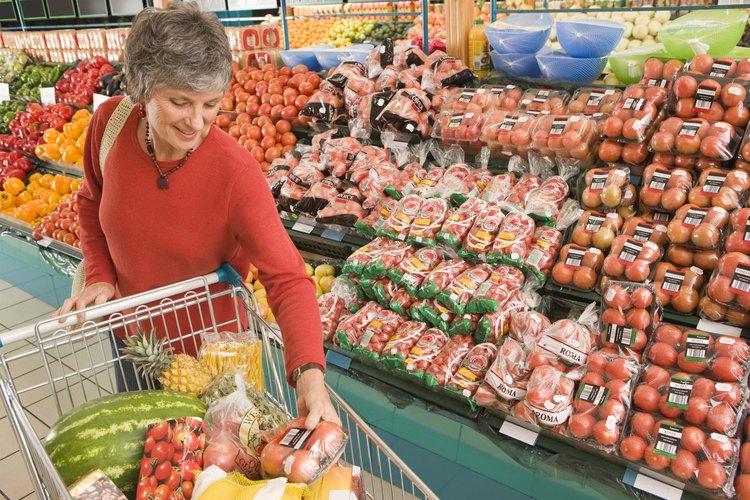 Una lista de artículos comestibles básicos evita que las elecciones en la tienda de abrumen.
