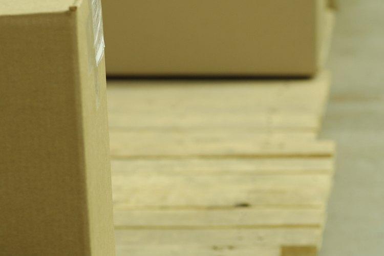 La piedra caliza debe llegar en paletas de madera.