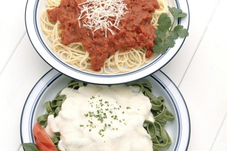 La marinara combina con cualquier plato de pasta.
