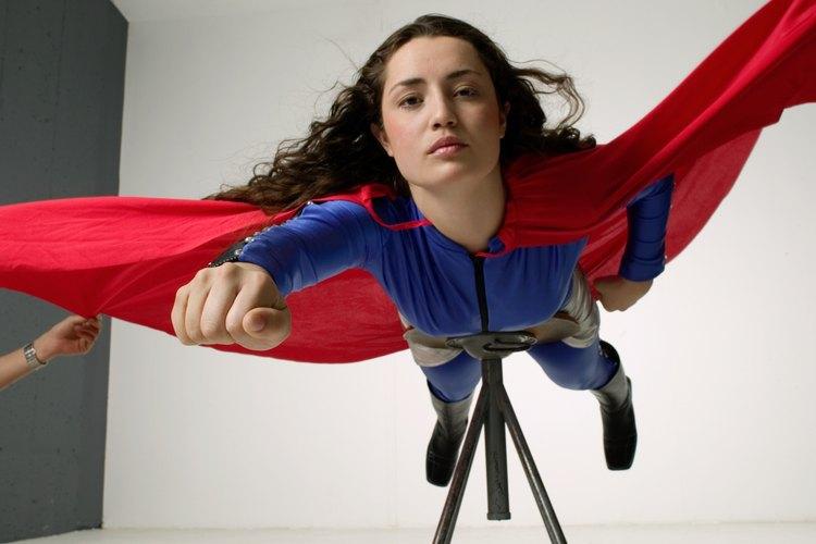 Usar un disfraz de súper héroe es una manera muy popular de asistir a la Comic Con.