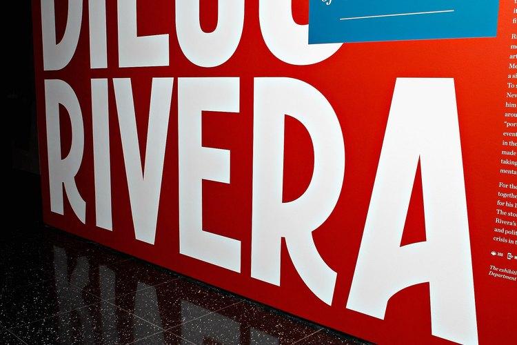 Los murales de Diego Rivera son admirados en todo el mundo.