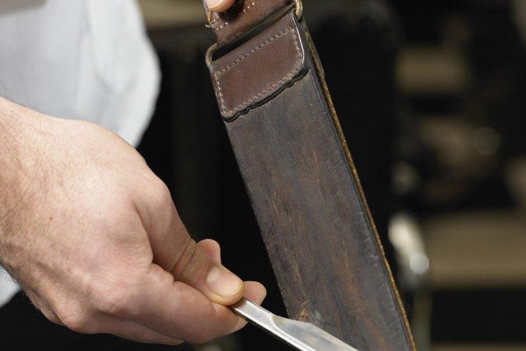 Las cuchillas de afeitar antiguas pueden esterilizarse fácilmente.