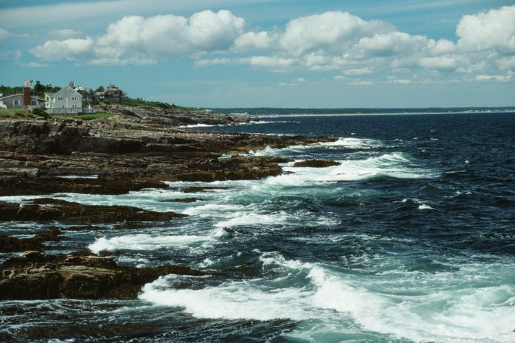 Las costas rocosas de Maine esconden un montón de hermosos cristales de mar.