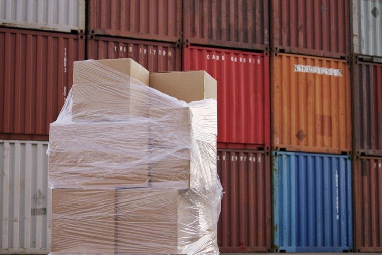 Los contenedores se pueden apilar fácilmente cuando no están siendo manipulados.