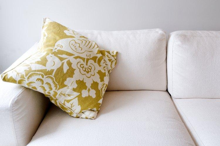 Estima los metros necesarios para dar a tu sofá una renovación.