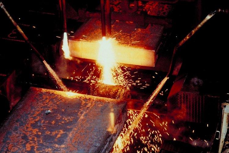 Las barras de acero se fabrican en diferentes grados.