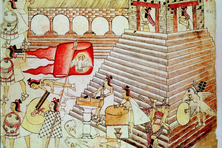 Cortés sitió a Tenochtitlán y ésta finalmente se rindió.