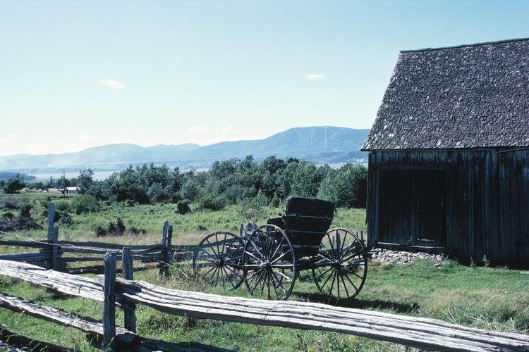 Los amish viven en el estado de Pensilvania.