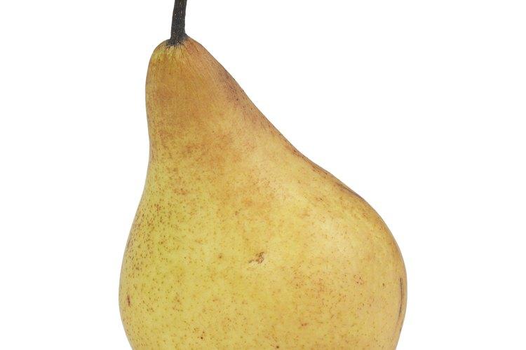 Las peras se cultivan de manera muy similar a las manzanas.
