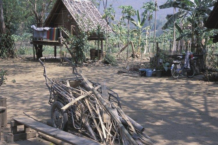 Visitar una aldea en las montañas de Tailandia será una gran aventura.