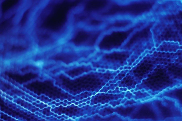 La luz UV crea efectos fluorescentes que llaman la atención.