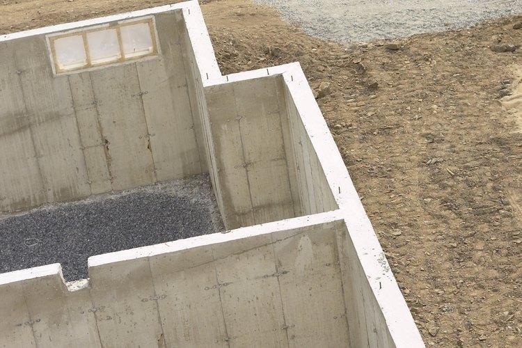 El hormigón tiene requisitos específicos de construcción.