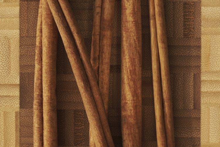 El árbol de canela está relacionado con la planta de canela culinaria.