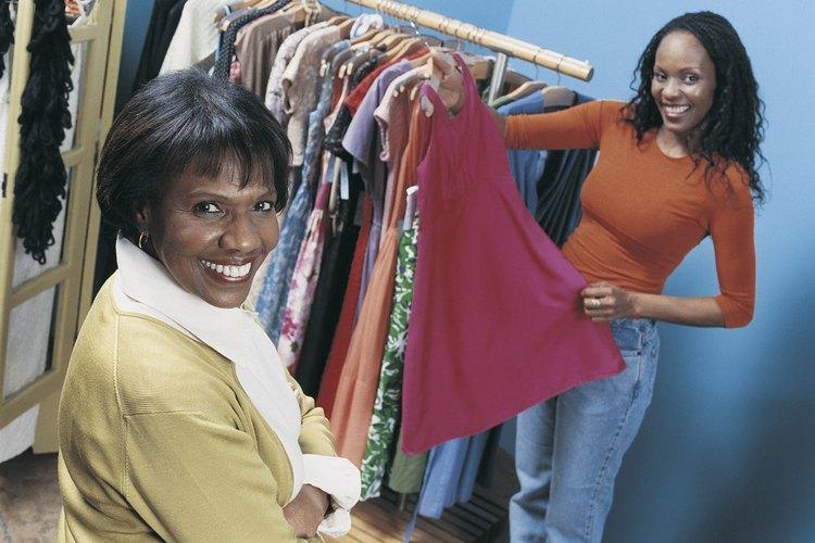 Los vestidos profesionales generalmente están hechos de telas más gruesas.