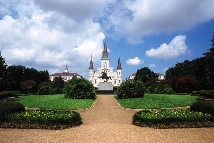 Plaza Jackson, New Orleans, Louisiana.