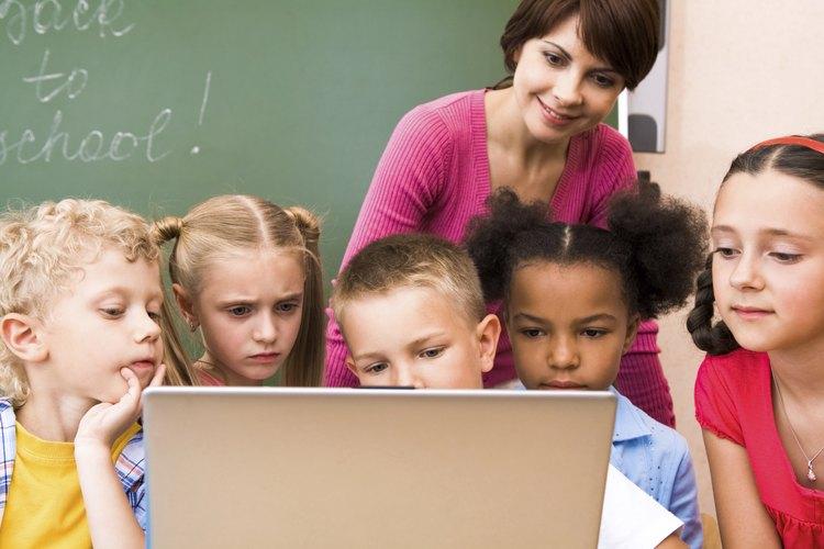 Niños en clase.