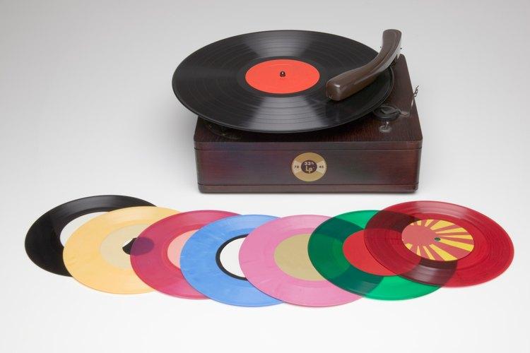 Los discos de vinilo están estrechamente relacionados con los años cincuenta.