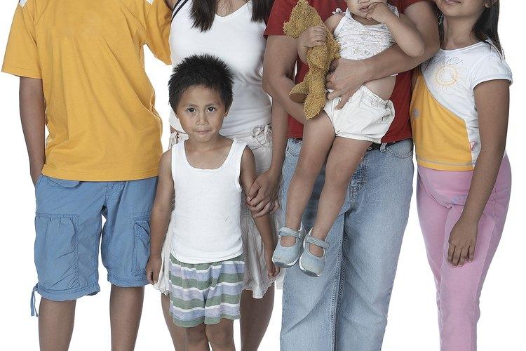 El número de niños en una familia crea e influye en múltiples dinámicas entre los miembros de la familia.