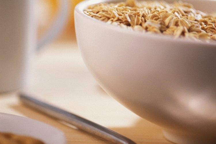 Elige cereales saludables.