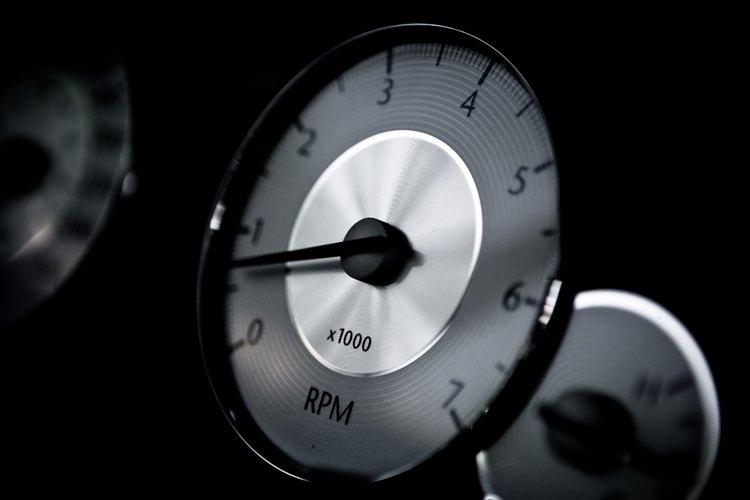 Los motores pequeños también se benefician si se les instala un tacómetro.