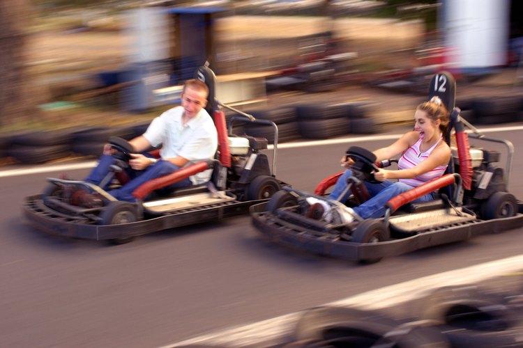 Los niños se divertirán en la pista de kartings.