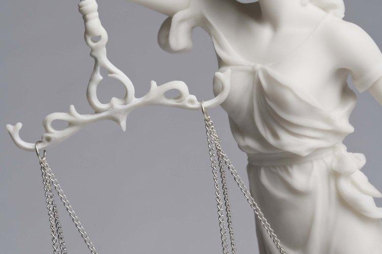 La Señora Justicia puede tener variaciones.