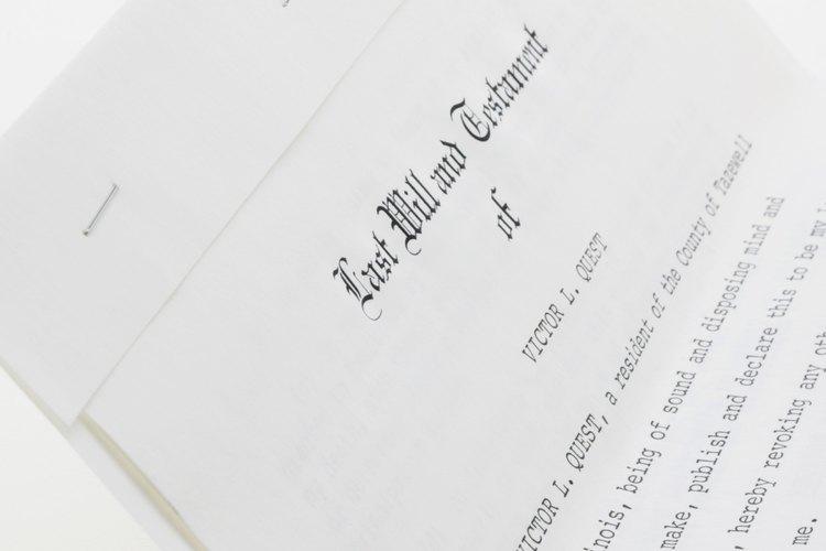 Un último testamento puede garantizar que los bienes destinados sean heredados por el heredero correcto.
