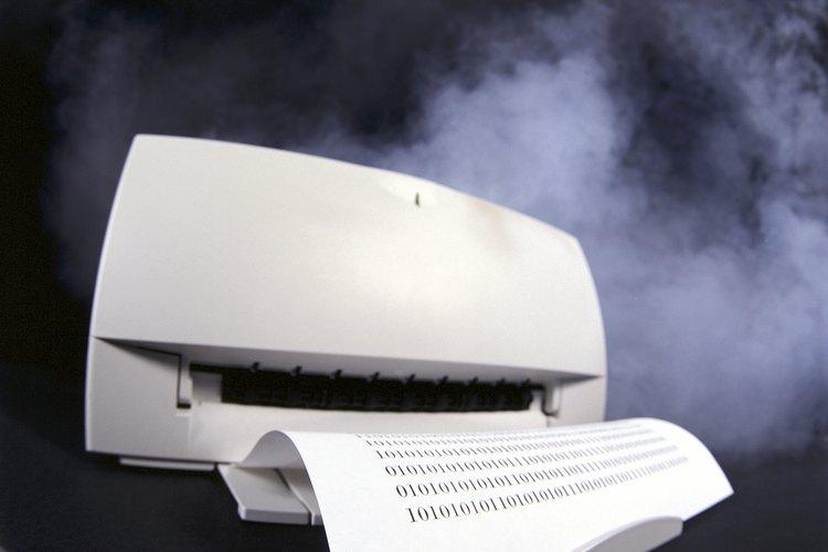 Una impresora.