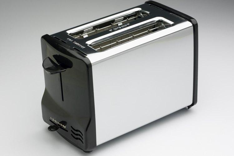 Las tostadoras utilizan resistencias para producir calor.