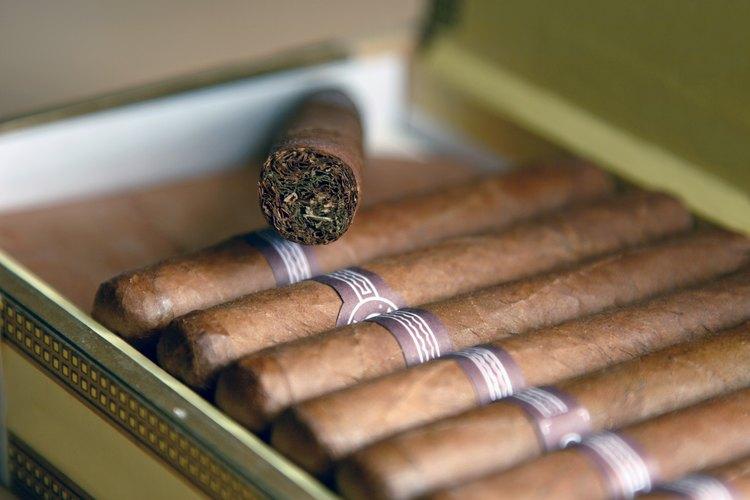Caja de cigarros.