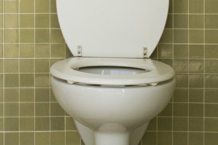 Los fluxómetros para inodoros pueden ser reemplazados con los tanques del inodoro.