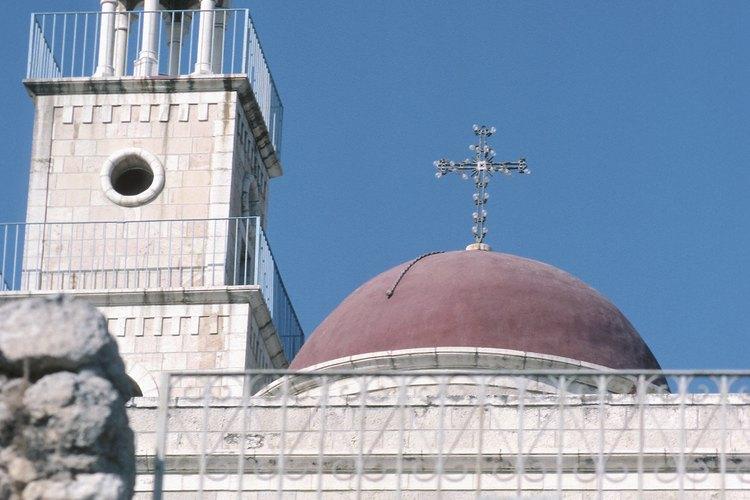 Iglesia de San José, en Nazaret, Israel.