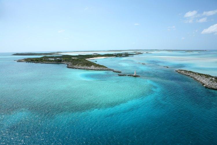 Las Bahamas ofrecen las aguas más claras del mundo.